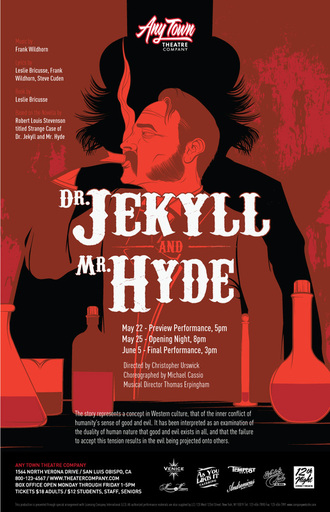Dr Jekyll and Mr Hyde Poster: AVRART