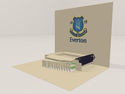 3D screenshot of the Everton: Goodison Park Stadium 03