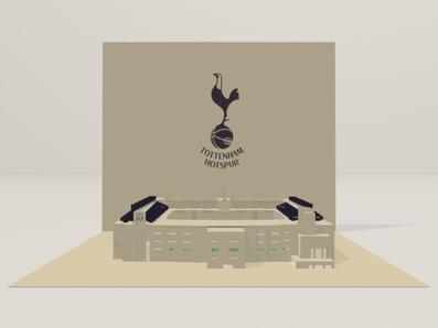 3D screenshot of the Tottenham Hotspur FC: White Hart Lane Stadium 02 by AVRART