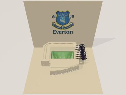 3D screenshot of the Everton: Goodison Park Stadium 01