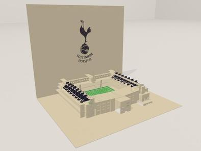 3D screenshot of the Tottenham Hotspur FC: White Hart Lane Stadium 04 by AVRART